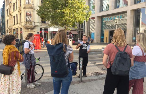 Textilrundgang in Plagwitz im Oktober